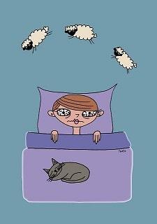 Le stress génère des troubles du sommeil comme l'insomnie