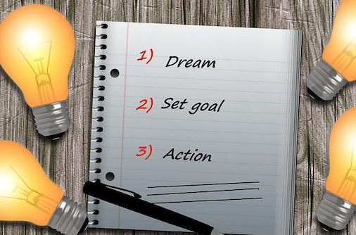 Écrire son objectif pour rester motivé
