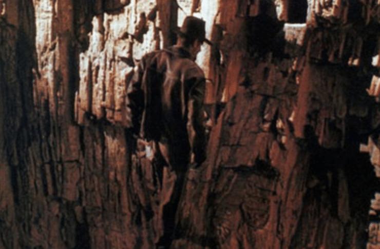 Le saut de la foi d'Indiana Jones
